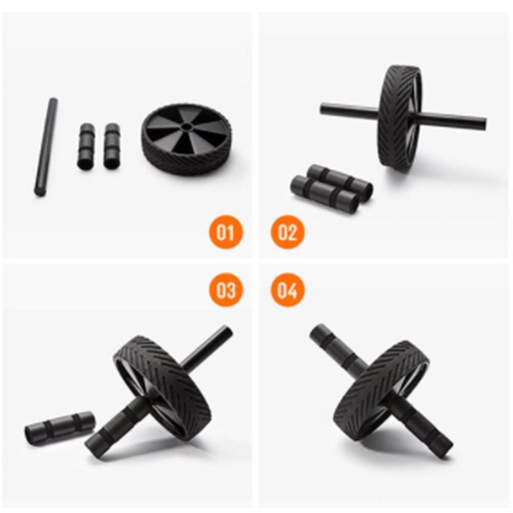 Купить с кэшбэком Roller Wheel Exercise Equipment Abdominal Wheel Exercise Equipment Ab Wheel Roller for Home Gym Ab Workout Equipment