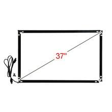 37 polegada 16:9 infravermelho multi touch frame 862*503mm 10 pontos toque interface usb
