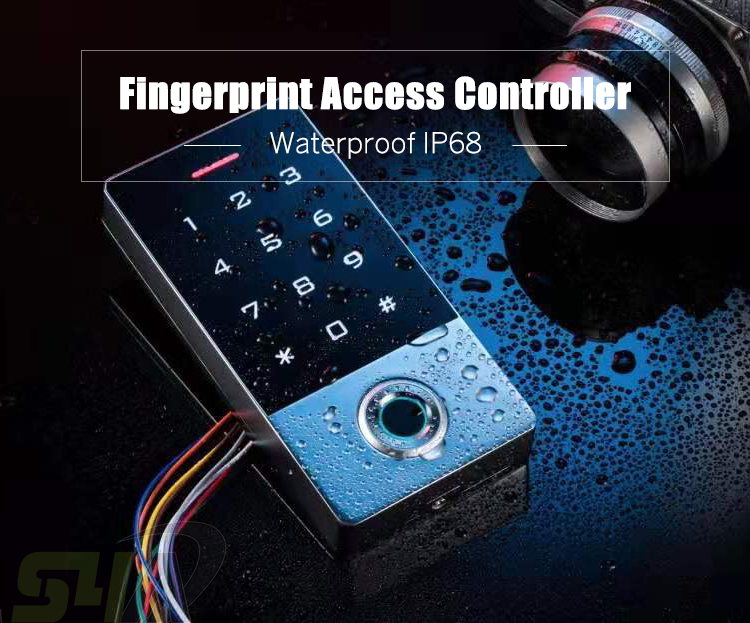 Waterproof RFID EM//ID 125KH WIG26 Fingerprint Reader Password Gate Opener Access