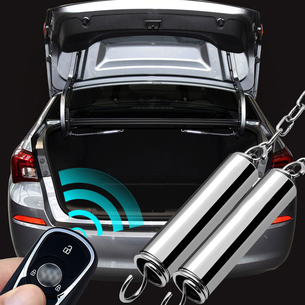 Car Trunk Spring Metal Adjustable Automatic Boot Lid Lifting Spring Remote Open Device Universal