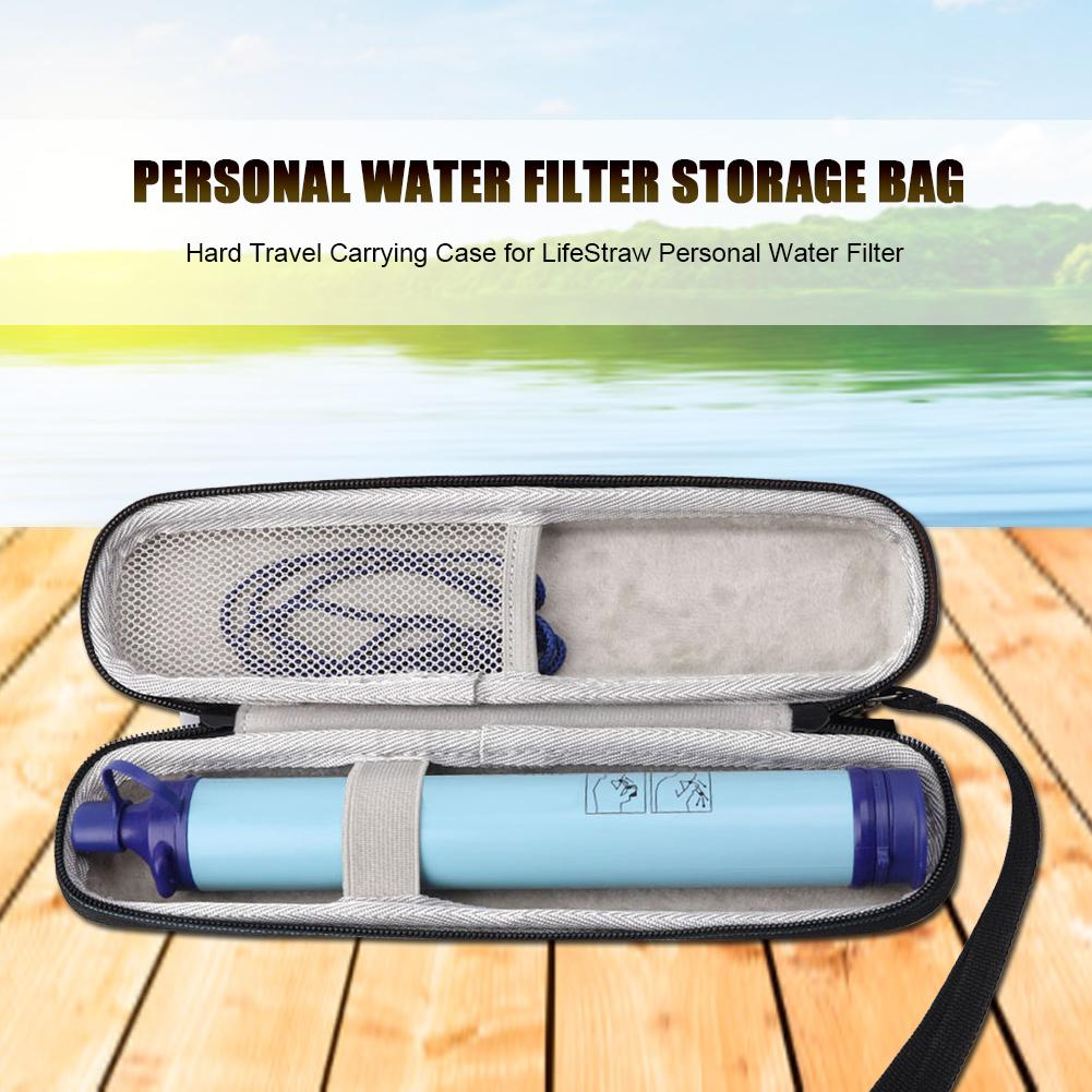 Hiking Camping Outdoor Survive Water Filter Case Travel Case For LifeStraw Personal Water Filter Carrying Case (Only Case) P10