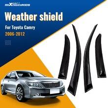 Weathershield chuva defletores tempo escudo para toyota camry 2006 2007 2008 2009 2010 2011