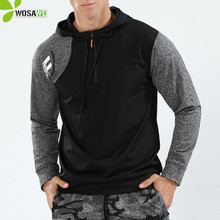 Hooded Caps Run Jackets Thin Thermal Fleece Sweater High Easticity Long Sleeve Gym Fitness Running Jogging Sport Hoodies for Men