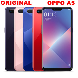 DHL Fast Delivery Oppo A5 4G LTE Smart Phone Android 8.1 6.2