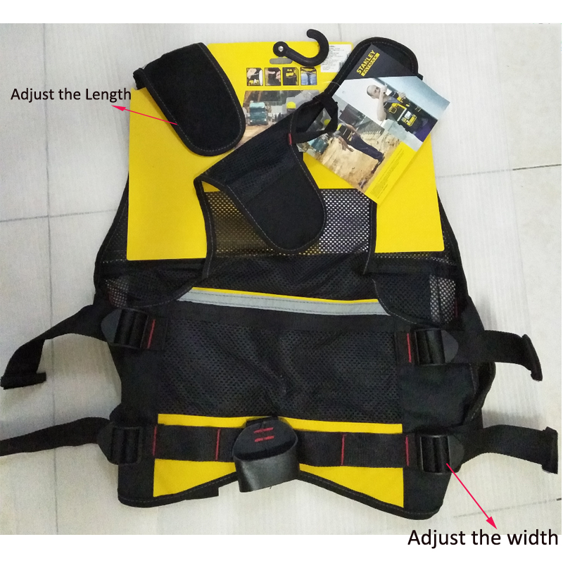 Stanley Fatmax multi pocket vest for tools