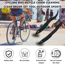 High Quality Cleaning clean Brush arrival Cycling Bike Bicycle Chain Set Tool outdoor Sports wholesale bicycle large brush chain cleaning brush tooth plate chain cleaning equipment three sides large brush