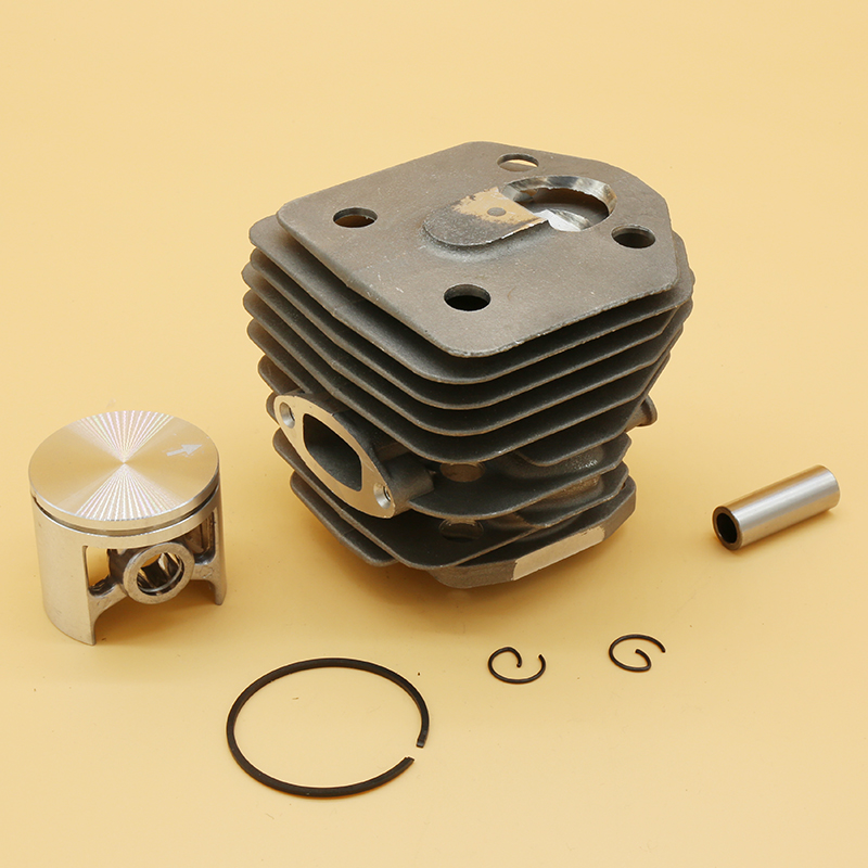 45mm Cylinder Piston Fit For Husqvarna 154 154XP 254 254XP Chainsaw Tools Replacement Spare Parts 503503903 503503901