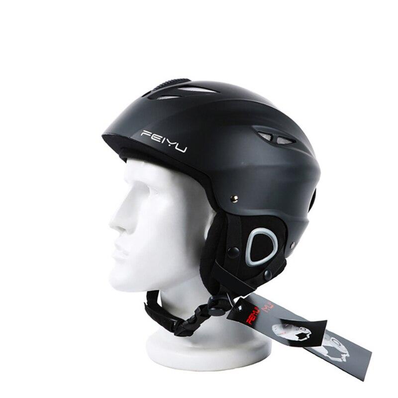 Casque de Ski ABS Shell + Eps couche intérieure froid chaud Anti-chute porter universel pour les femmes hommes casque de Ski professionnel casque de protection - 2