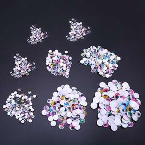 Eyes Eyelashes Doll-Bear 200pcs with for Stuffed-Toy DIY Craft 18mm/20mm Self-Adhesive