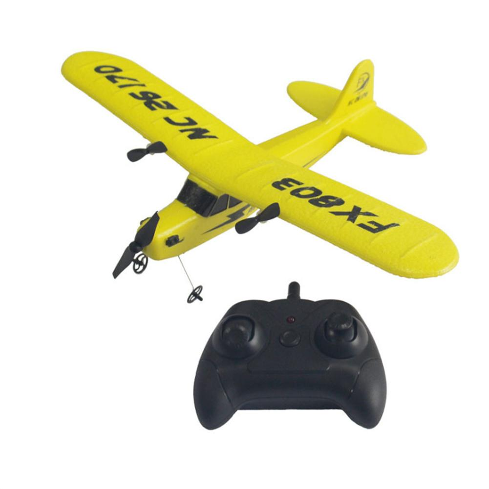 Remote Control Glider Plane 2.4GHz Rechargeable FX803 EPP Foam Drone Fixed Wing Aircraft With 2 Channel image