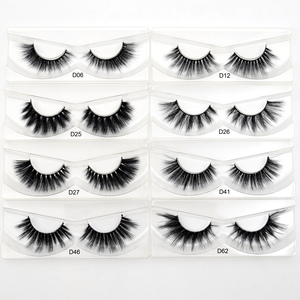 Image 2 - 30Pairs Visofree Eyelashes 3D Mink Hair False Eyelashes Vegan Cruelty Free Natural Thick Long Eye Lashes Makeup Beauty Extension