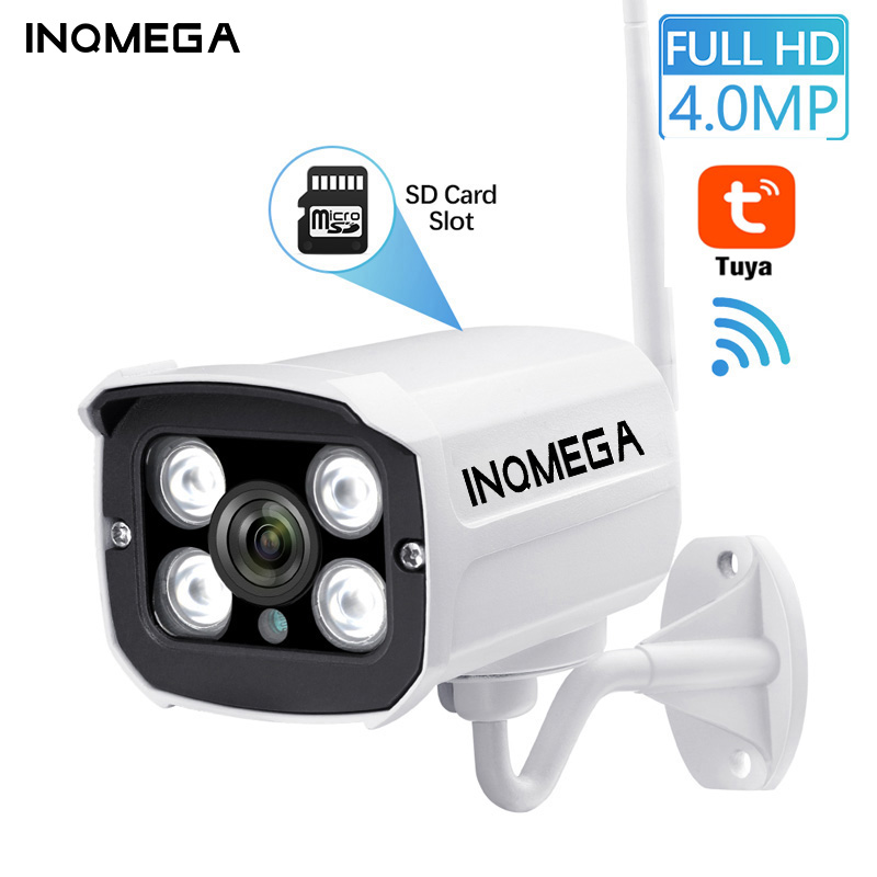 INQMEGA Tuya Wlan Camera Outdoor Wifi Full HD 1080P 2.4 Channel CCTV System Metal IP Camera CCTV Home IP Wifi Cam