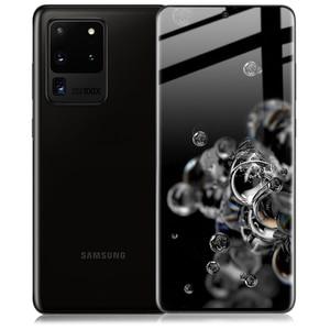 Image 5 - Imak 3D Gebogen Gehärtetem Glas Für Samsung Galaxy S20 Ultra Plus oleophobe Full Screen panel Kleber