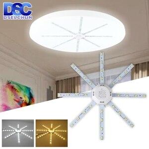 Image 1 - Tavan işık kaynağı 12W 16W 20W 24W LED tavan lambası ahtapot modül lamba kurulu 220V Led ampul kolay kurulum tavan ışık