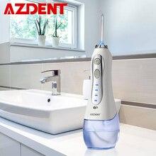 3 режима беспроводной Оральный ирригатор портативный водный зубной Флоссер USB Перезаряжаемый струи воды зуб палочки 5 струйных наконечников 300 мл