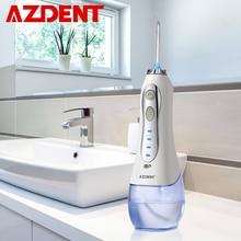 Беспроводной ирригатор полости рта, стоматологический компактный ирригатор, 3 режима работы, перезаряжаемый через USB, 5 насадок, 300 мл