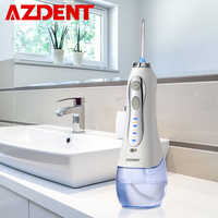 Nouveau ne fil 3 Modes, Irrigator Oral sans fil, fil dentaire à eau Portable, Jet d'eau Rechargeable, fil à dents, 5 embouts, 300ml