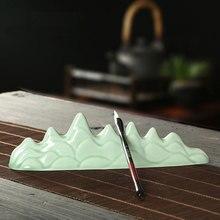 Writing brush pen holder washer pot ceramic washing bowl calligraphy practice accessories 1pc