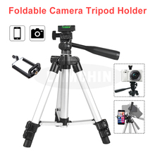 Профессиональный штатив-Трипод для фотосъемки телефона со встроенным уровнем четырехсекционный Штатив для зеркальной камеры с мини Двухсекционным штативом-держателем