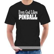 Even God Likes Pinball Mens Tee Shirt Pick Size Color Small Thru 6XL S S L S @010528