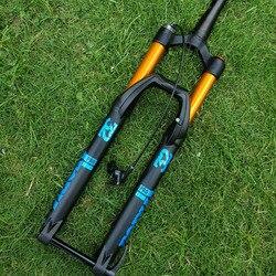 140 мм путешествия горный велосипед пневматическая подвеска велосипед вилка велосипедная производительность над SR SUNTOUR EPIXON LTD диаметр 32 мм 26 ...