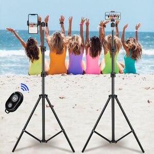 Image 5 - 1/4 di Testa della vite Universale In Alluminio Portatile Selfie Treppiede Per Il Telefono Del Basamento Del Supporto Del Digitale di Controllo Della Macchina Fotografica Con Telecomando Bluetooth