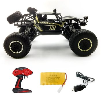 1:8 Super Large Alloy Body RC Car 4WD Scale 2.4G Remote Control Off Road Vehicle Climbing RC Buggy Children's toy car gift Model 2