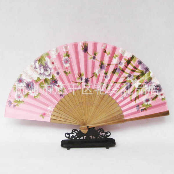 Ventilador plegable de calidad superior para regalos de estilo chino, ventilador plegable chino de estilo japonés