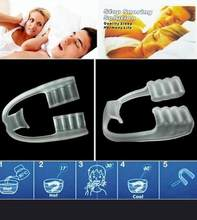 Silicone Detntal Mouth Guard Anti Snore Sleep Aid Night Teeth Tooth Grindinh Prevention Snore Stopping Tools Anti Snore(China)