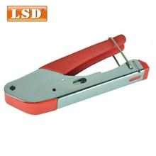 LSD коаксиальный обжимной инструмент для RG59/RG6 кабель F/BNC коаксиальный соединитель обжимные плоскогубцы LS-H518A инструмент для сжатия rg6 Инстру...