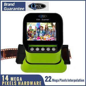 """Image 1 - High Resolution 22 Mega pixels 120 Slide Film Scanner 35mm Negative Photo Scanner Digital 135 126KPK Film Converter 4.3""""LCD"""