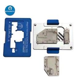 3 w 1 Magico Test Jig dla iPhone X XS MAX górna/dolna warstwa płyta główna oddzielająca Teardown dla iPhone zestaw narzędzi do naprawy w Zestawy narzędzi ręcznych od Narzędzia na