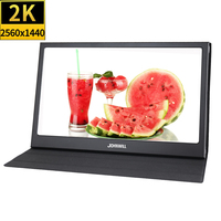 New 13.3 2K HDMI Portable Display Full HD 2560X1440 IPS Screen PS4 Xbo X360 LCD LED Monitor for Raspberry Pi Wins 7 8 10 switch