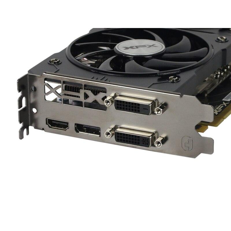 Видеокарта XFX R9 380 4 Гб, видеокарта AMD Radeon R9 380X4 Гб, видеоэкран, плата GPU, настольный компьютер, игровая карта, видеокарта, не Майнинг