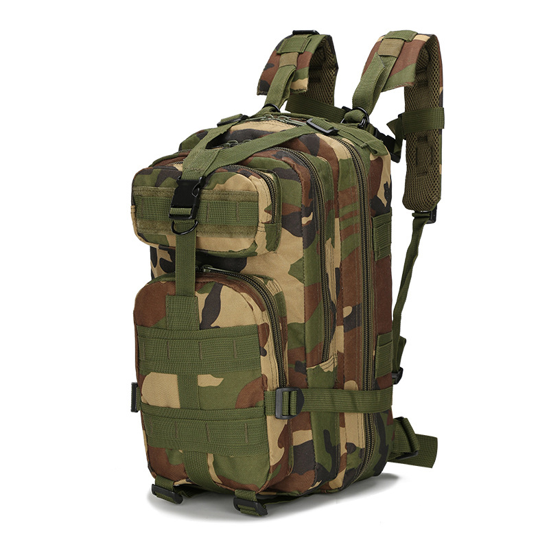 Waterproof Tactical Backpack Nylon 3P Military Military Backpack 1000D Outdoor Sports Hiking Camping Hunting Molle Bag