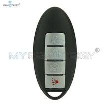 Полный умный ключ kr55wk48903 4 кнопки 315 МГц для infiniti