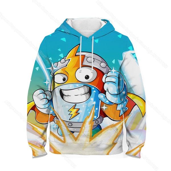 Kids 3D Print Super Zings Hoodie Autumn Winter Children Superzings 6 Series Sweatshirt Sudadera Boy Girl Cartoon Anime Pullover 32