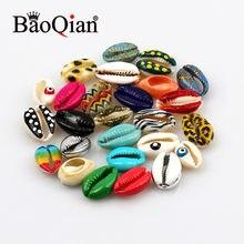 10 unids/lote para pecera doméstica Bonsai decoración Concha Natural hecho a mano DIY creativo de artesanías para la decoración de la casa de 10-20mm