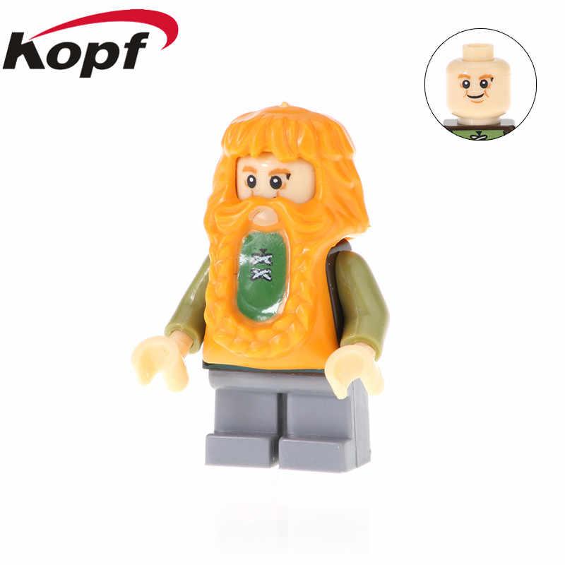 Enkele Verkoop De Lord of The Rings Cijfers Super Heroes Uruk-hal Frodo Baggins Bombur Bouwstenen Kinderen Gift speelgoed PG536