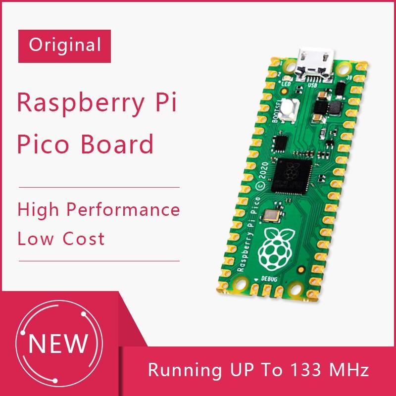 Raspberry Pi Pico a placa de microcontrolador de bajo costo y alto rendimiento con Interfaces digitales flexibles