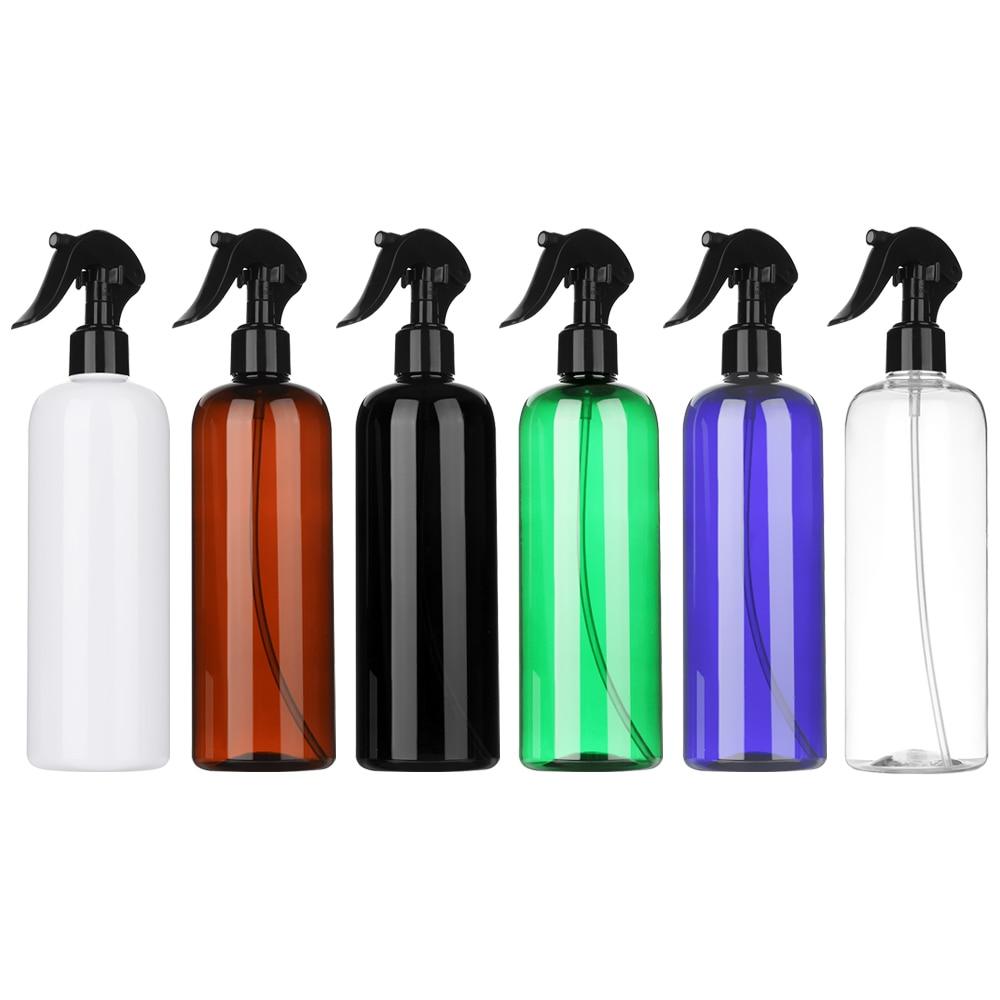 1 шт., многоцветная пластиковая бутылка-распылитель, 500 мл