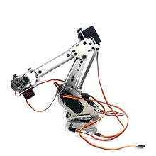 DIY 6DOF Mechanical Arm Robot Kit ABB Industrial Robot Model High Tech Toys Programmable 2019 New Year Gift(China)