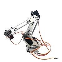 DIY 6DOF Mechanical Arm Robot Kit ABB Industrial Robot Model High Tech Toys Programmable 2019 New Year Gift