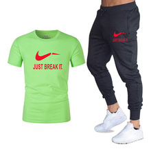 Summer new style Sport Suit Quick Dry Sports Suits Loose Tracksuits Mens Autumn Fitness Running suits Jogging 2019