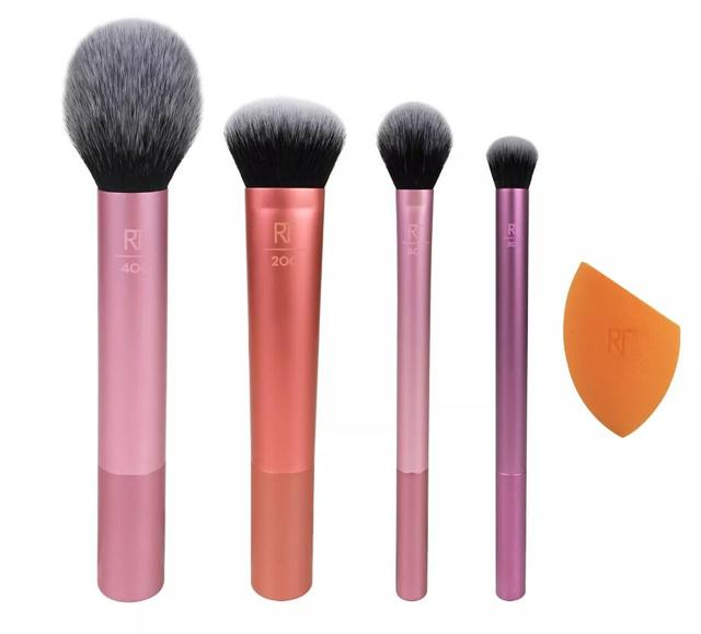 NEW Make up Brushs 1-3-4-5-6-7pcs Maquillage Real Technique Makeup Brushs Powder Loose Box Belt foundation brush 1786 2
