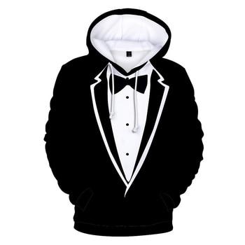Fashion Design Men's Clothing Street 3D Hoodie Hip Hop Suit Print Pullover Boy Comfortable Hoodies Lady Casual Black Sweatshirt цена 2017