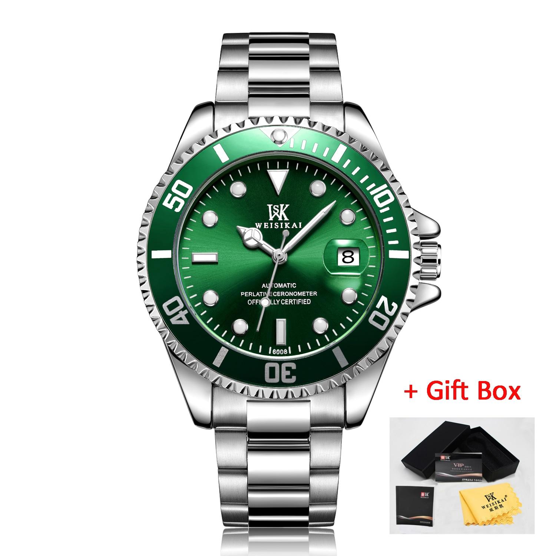 WSK silver green