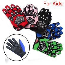 TDPRO – gants de moto en Nylon 100%, 1 paire, rouges, chauffants, équipement de sport pour enfants