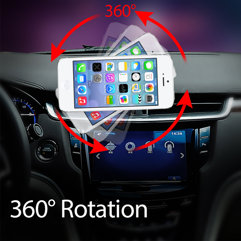 Magnetic Phone Holder In Car  360 Rotation Universal Car Holder Strong Magnet Hold  Support For IPhone Samsung Huawei  Phone