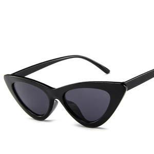 Cat Eye Sunglasses Women Sexy Retro Small Cateye Sun Glasses Mens 2020 Brand Designer Colorful Eyewear Shades For Female